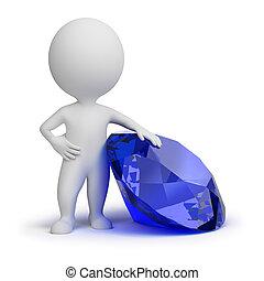 3d kleine Leute - Juwelen
