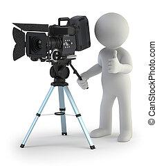 3d kleine Leute - Kameramann.