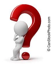 3d kleine Leute - komplizierte Frage