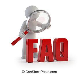 3d kleine Leute - lupe FAQ.
