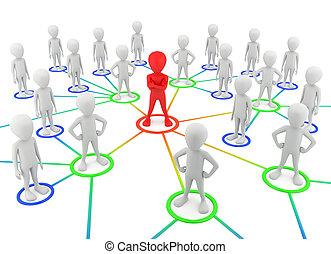 3d kleine Leute - Partner des Netzwerks.