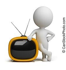 3d kleine Leute - Retro-TV