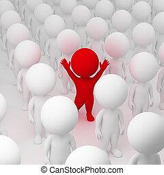 3d kleine Leute - segregate