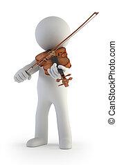 3d kleine Leute - Violin.