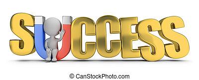 3d kleine Menschen - Erfolgsmagnet