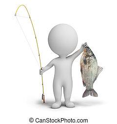3d kleine Menschen - Fischer