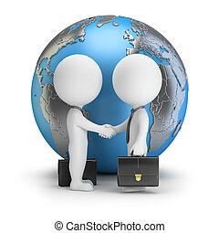 3d kleine Menschen - Global Deal