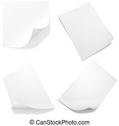 3d leere Papiertüten