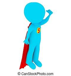 3D-Leute - Superman