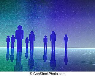 3D-Leute