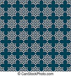 3d nahtlose Muster im arabischen Stil