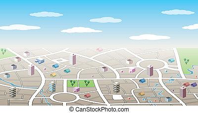 3d Stadtkarte