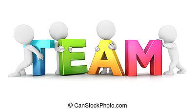 3d Weiße Team