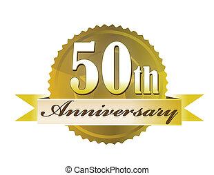 50. Jahrestagssiegel