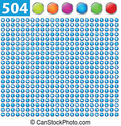 504 Glossy-Ikonen