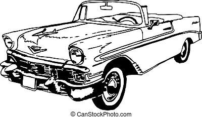 56 Chevrolet Cabrio