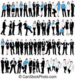 60 Geschäftsleute sind bereit
