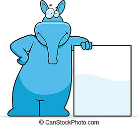 Aardvark lehnt sich