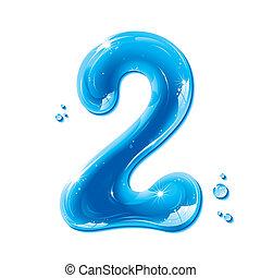 ABC-Serie, Wasser flüssige Nummer 2