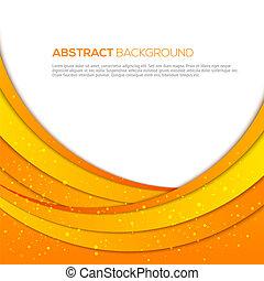 Absatract orange Hintergrund.