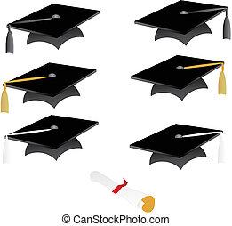 Abschlusskappe und Quassel