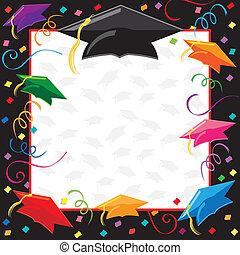Abschlussparty-Einladung