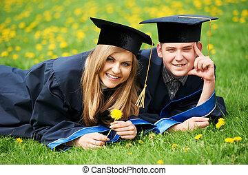 Abschlussschüler