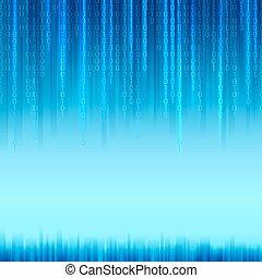 Abstract binären Code Hintergrund.
