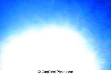 Abstract Blue Hintergrund. Vector Illustration