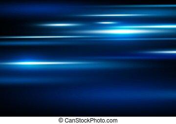 Abstract Blue Speed Motion Hintergrund Vektorgrafik.