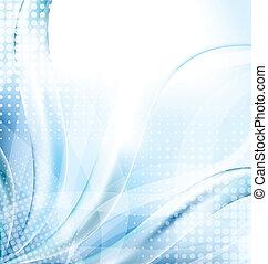 Abstract Blue Techno Hintergrund.