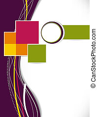Abstract Business Hintergrund. Layer Template. Brochure oder Flyer