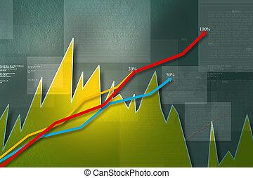 Abstract Business Hintergrund.