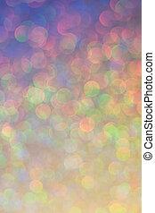 Abstract Christmas funkeld bright background with bokeh defocused light . Lichter festlicher Hintergrund.