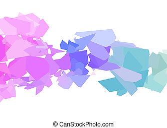 Abstract colorful geometrischen Hintergrund.