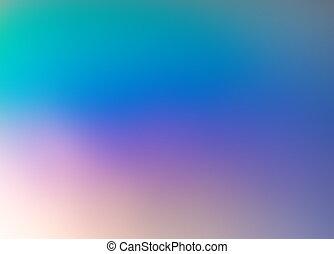 Abstract defocused Hologramm Gradient Hintergrund. Weihnachtsfest, Party-Design