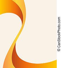 Abstract Flyer Design oder Broschüre.