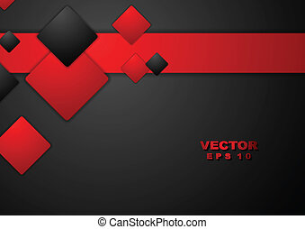 Abstract Geometrie-Technik Hintergrund