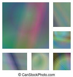 Abstract Gradient Hintergrund Design Set.