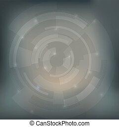 Abstract Grey Mesh Technologie Hintergrund Design.