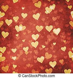 Abstract grungy valentine Hintergründe für Ihr Design.