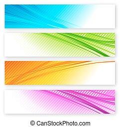 Abstract Hintergrund mit Farblinien