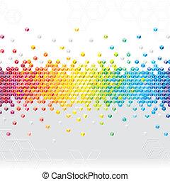 Abstract Pixel Hintergrund.