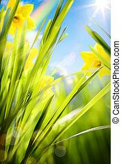 Abstract Spring Hintergrund.
