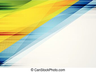 Abstract tech colorful grunge vektor Hintergrund