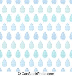 Abstract Textilblauer Regen lässt Streifen nahtlose Muster Hintergrund.