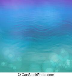 Abstract Vektorblauer Wasser Hintergrund.