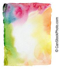Abstract wasserfarbener Hintergrund.