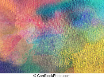 Abstract Watercolor Hintergrund.