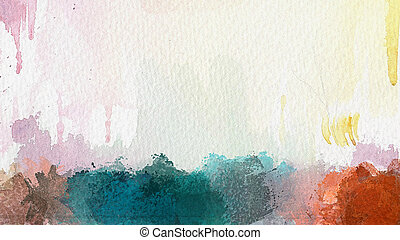 Abstract Watercolor Hintergrund